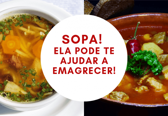 Sopa, uma aliada da dieta!
